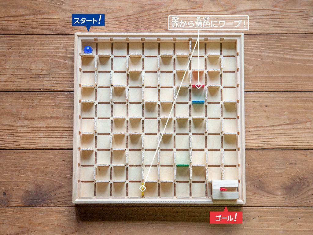 立体迷路の遊び方2