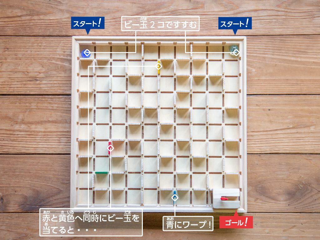 立体迷路の遊び方4