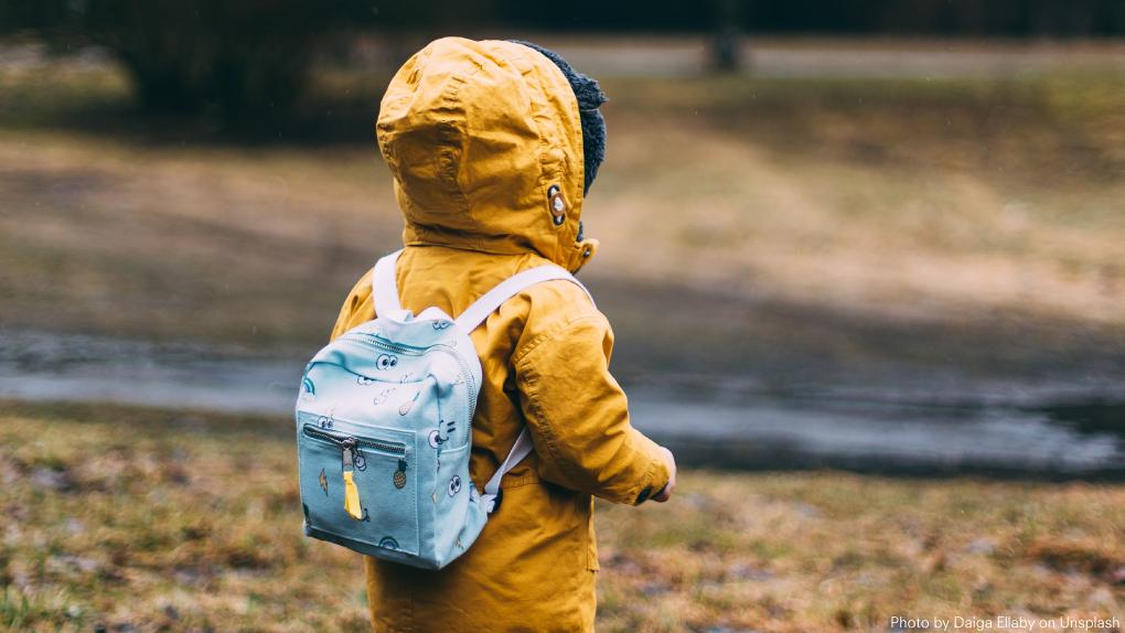 冒険する子ども